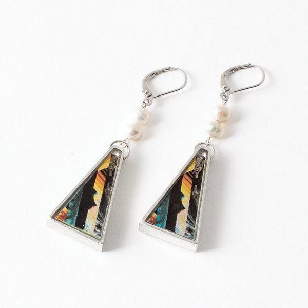 Anne-Marie Chagnon Noah Earrings in Macaw