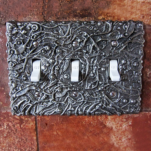 Don Drumm Triple Switchplate