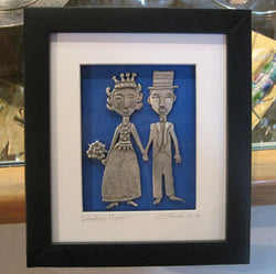 Framed Wedding Couple