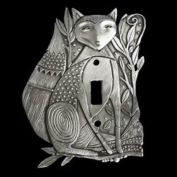"Leandra Drumm ""Fox Trot"" Switch Plate"