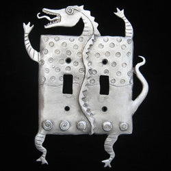 Leandra Drumm Dragon Double Switchplate