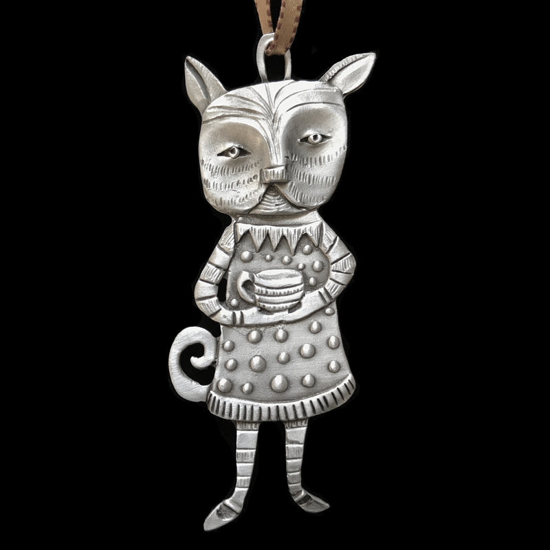 "Leandra Drumm ""Tea Time"" Ornament"