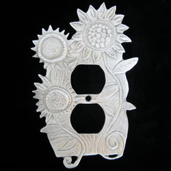 Leandra Drumm Flower Garden Outlet Cover