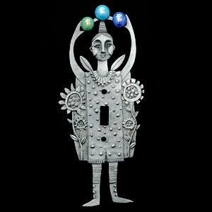 "Leandra Drumm ""Juggler"" Switchplate"