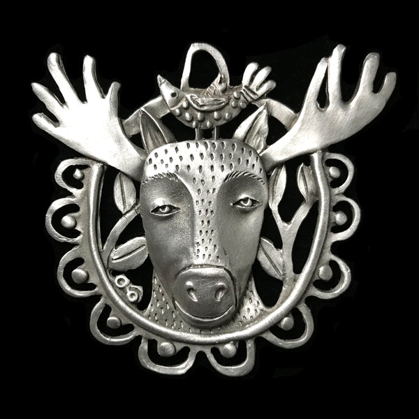 "Leandra Drumm ""Moose"" Ornament"