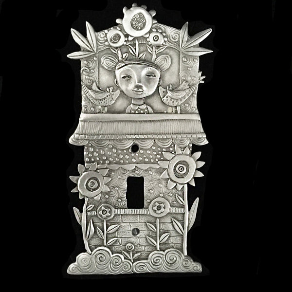 "Leandra Drumm ""Flower Tower"" Switch Plate"