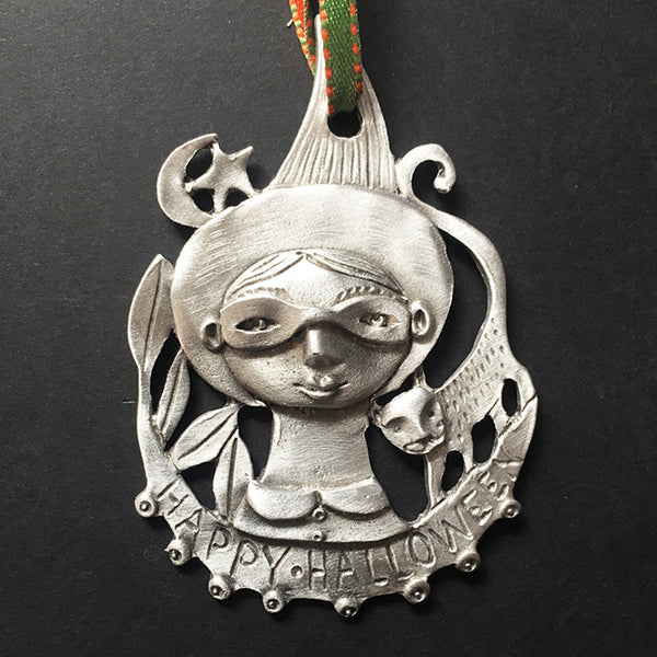 "NEW Leandra Drumm ""HALLOWEEN WITCH"" Ornament"