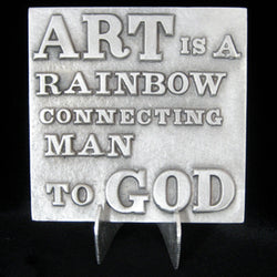 Don Drumm Rainbow to God Tile