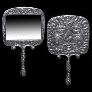 Don Drumm Hand Mirror with Sunface
