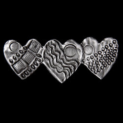 Don Drumm Tri-Heart Pin