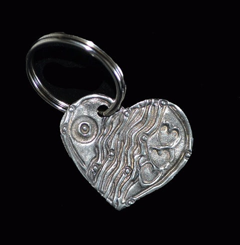 Don Drumm 3-Heart Key Chain