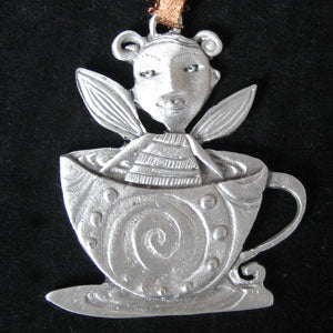 Leandra Drumm Coffee Fairy Ornament