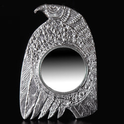 Don Drumm Round Bird Mirror