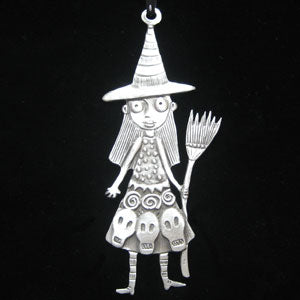 Leandra Drumm Witch Ornament