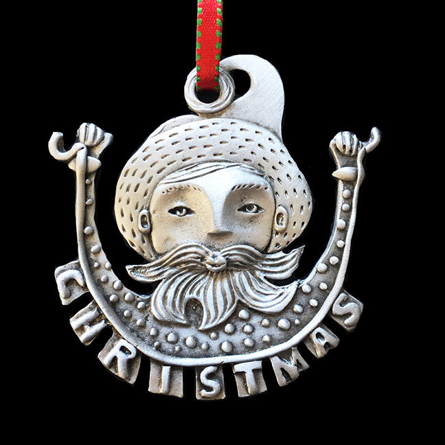 "NEW Leandra Drumm ""Father Christmas"" Ornament"
