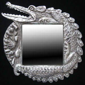 Don Drumm Alligator Mirror
