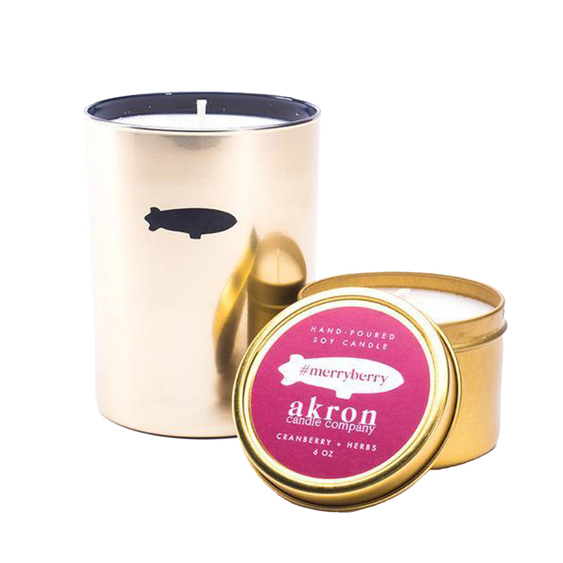 Akron Candle Company MerryBerry Candle