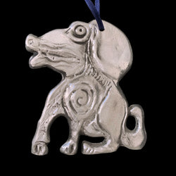 Don Drumm Aluminum Dog Ornament