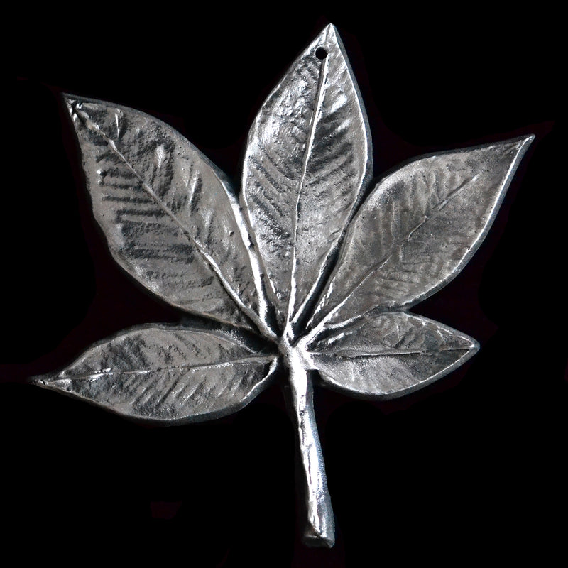 Large Don Drumm Buckeye Leaf
