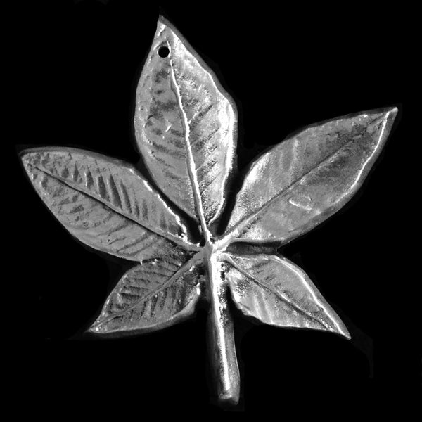 Small Don Drumm Buckeye Leaf