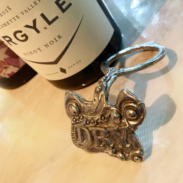 """Dry"" Wine Bottle Tag"