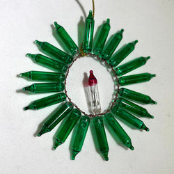 Flowers of Persephone Wreath Ornament