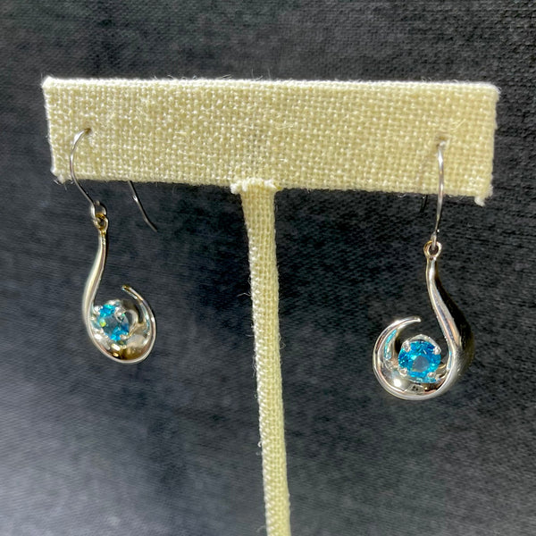 Chip Arnold Jewelry Swirl Drop Earrings