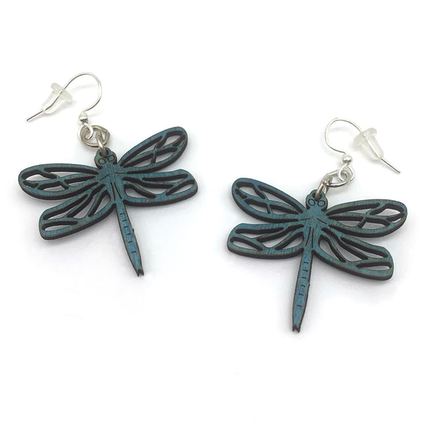 Green Tree Jewelry Dragonfly Earrings