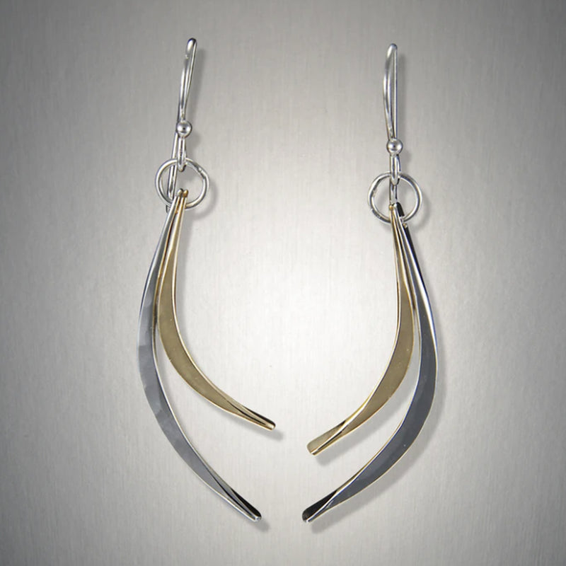 Peter James Double Curves Earrings