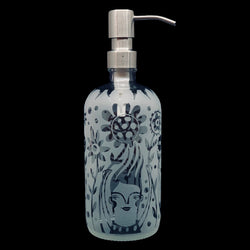 "Leandra Drumm ""Flower People"" Soap/Sanitizer Dispenser"