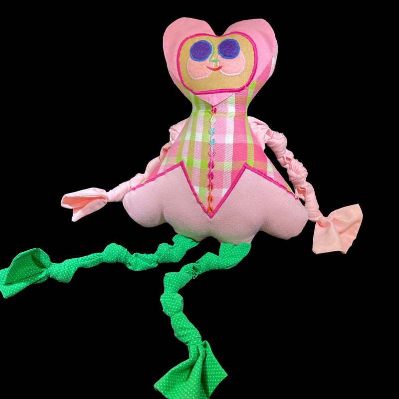 Lisa Drumm Knotty Valentine Doll