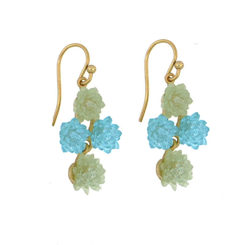 Michael Vincent Michaud Succulents Earrings