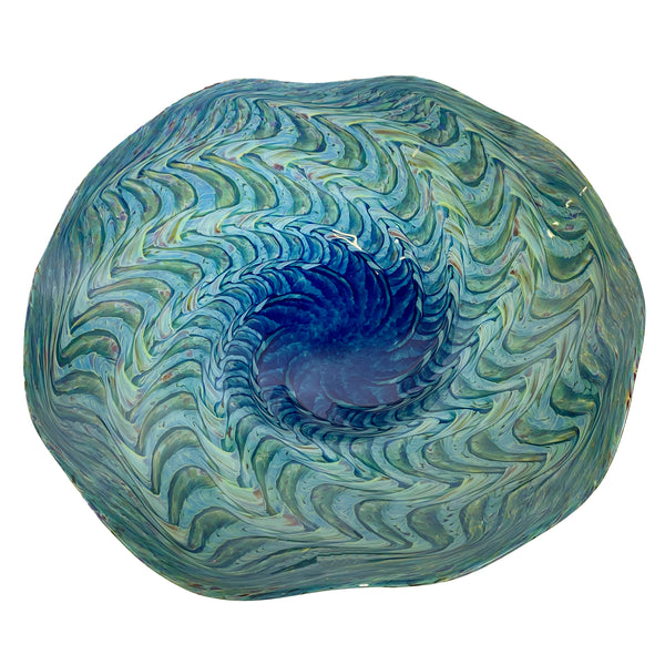 Callahan Mountain Studios Medium Shell Fluted Bowl