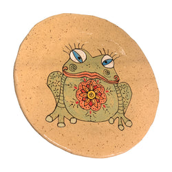 Shelley Giangaspero Round Frog Plate