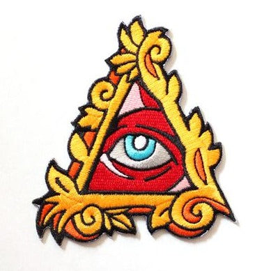"Matt Miller ""Eye of Providence"" Embroidered Patch"