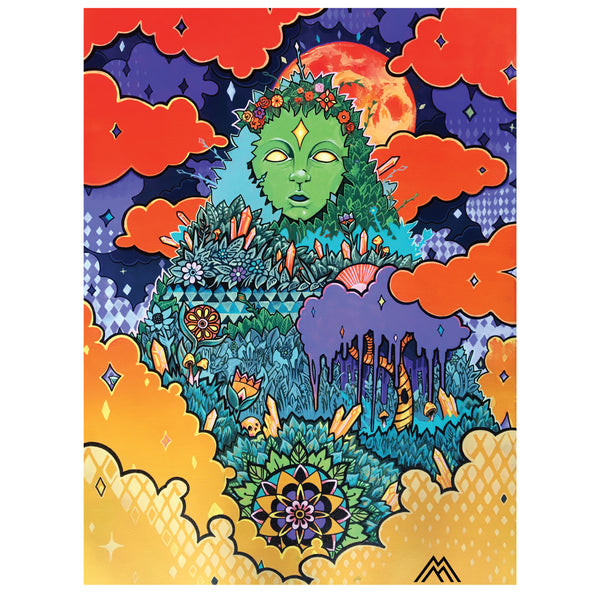 "Matt Miller ""Mother Earth"" Print"