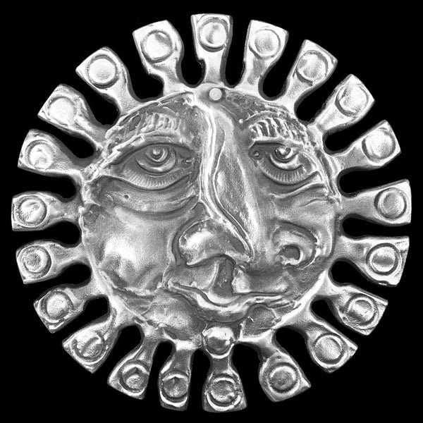 Medium Sun Face Wall Hanging