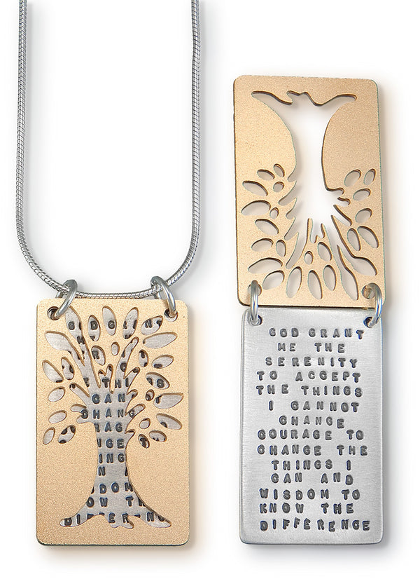 Kathy Bransfield Tree of Serenity Necklace