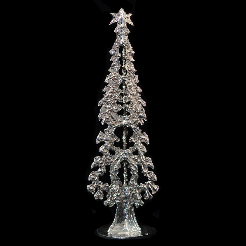 "NEW! Don Drumm Large Pewter Tree ""B"""