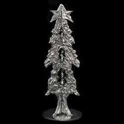 "NEW! Don Drumm Pewter Tree ""C"""