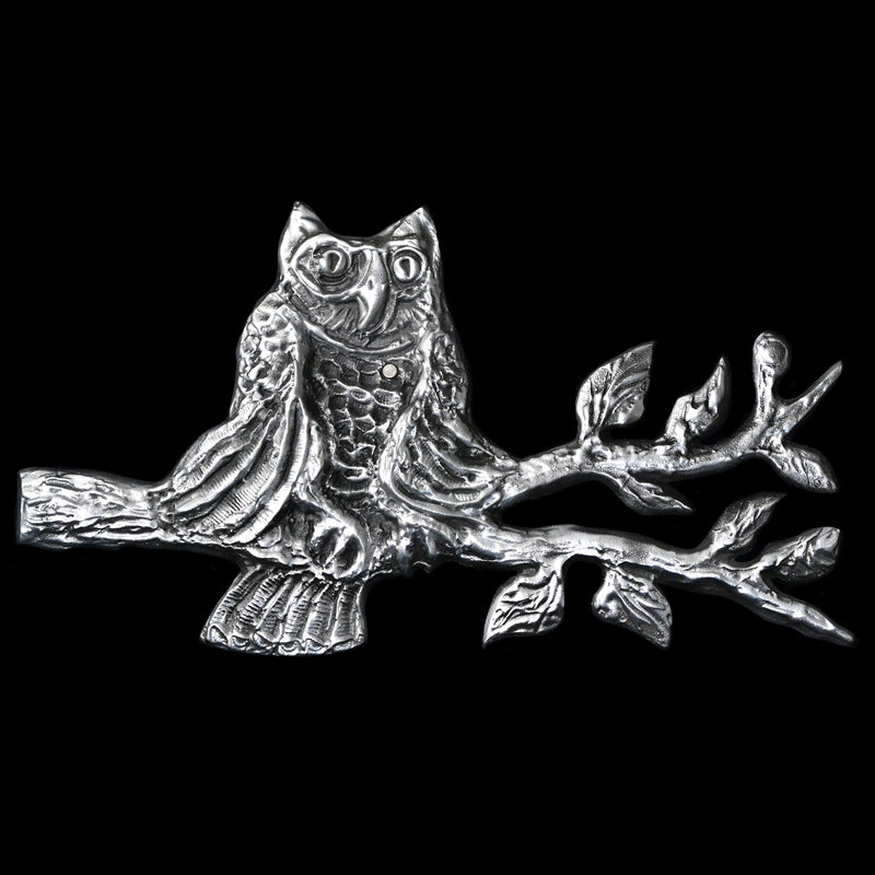 "NEW! Don Drumm ""Owl On a Branch"" Wall Hanging"