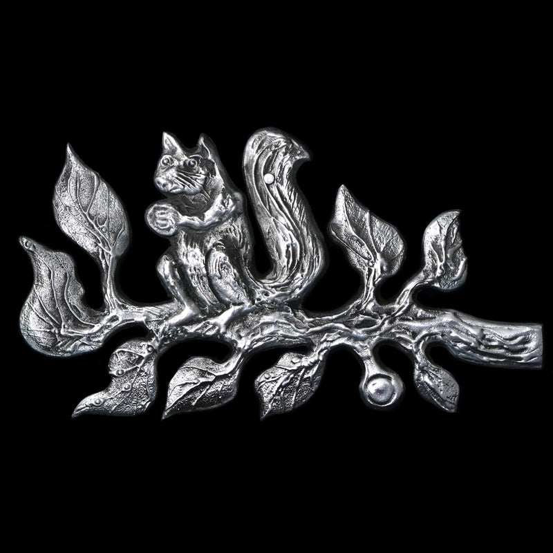 "NEW! Don Drumm ""Squirrel On A Branch"" Wall Hanging"