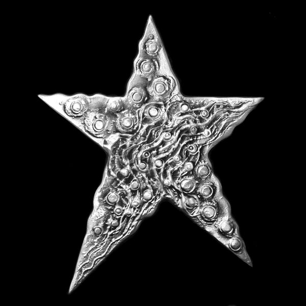 Aluminum Star Wall Hanging #9