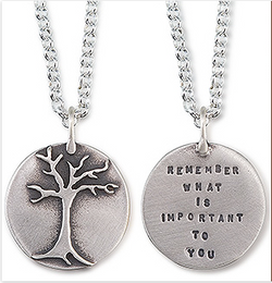 "Kathy Bransfield ""Important"" Tree Necklace"