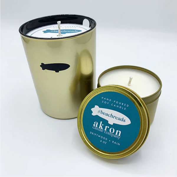 Akron Candle Company BeachReads Candle