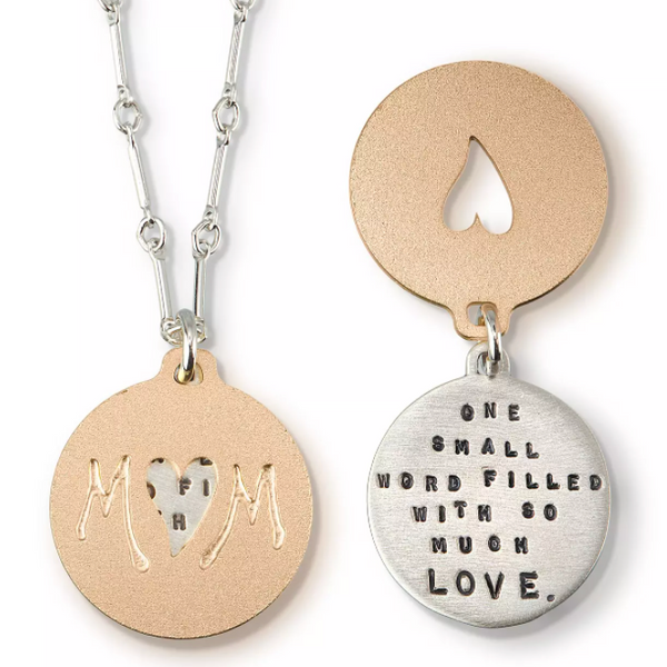 "Kathy Bransfield ""Mom"" Necklace"