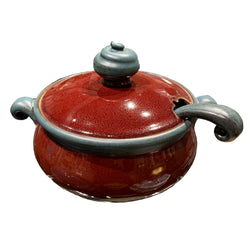 Michael Smith Pottery Soup Tureen with Ladle