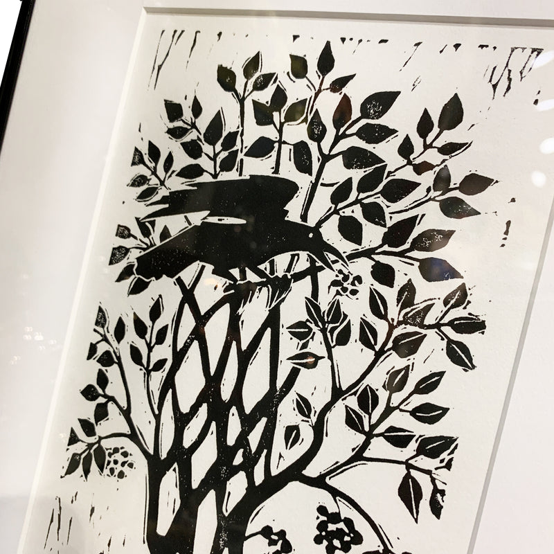 "Joan Colbert ""Ruis The Elder Tree"" Framed Relief Print"