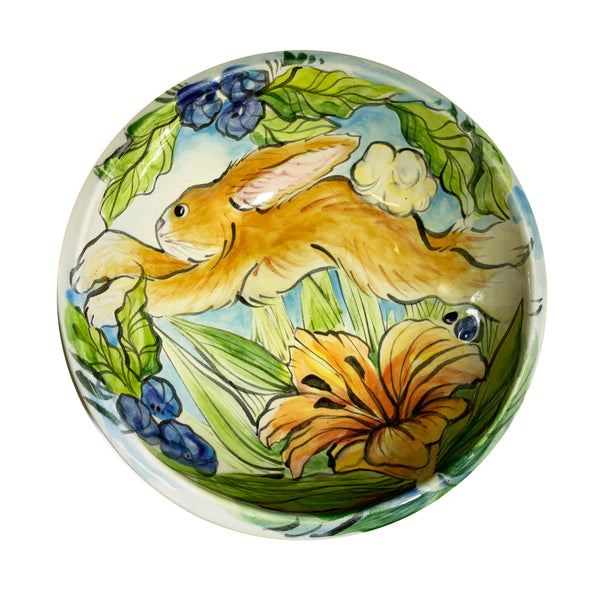 Haidi J. Haiss Small Round Animal Bowl