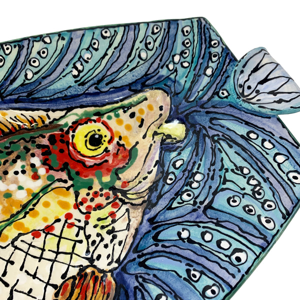 Ron Korczynski Low Fire Fish Platter